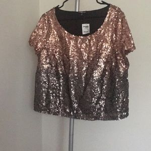 Plus size Charlotte Russe top!
